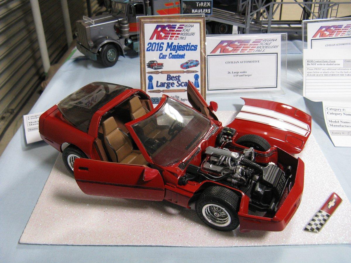 Regina Scale Modellers Majestics Model Car Show Contest 2016